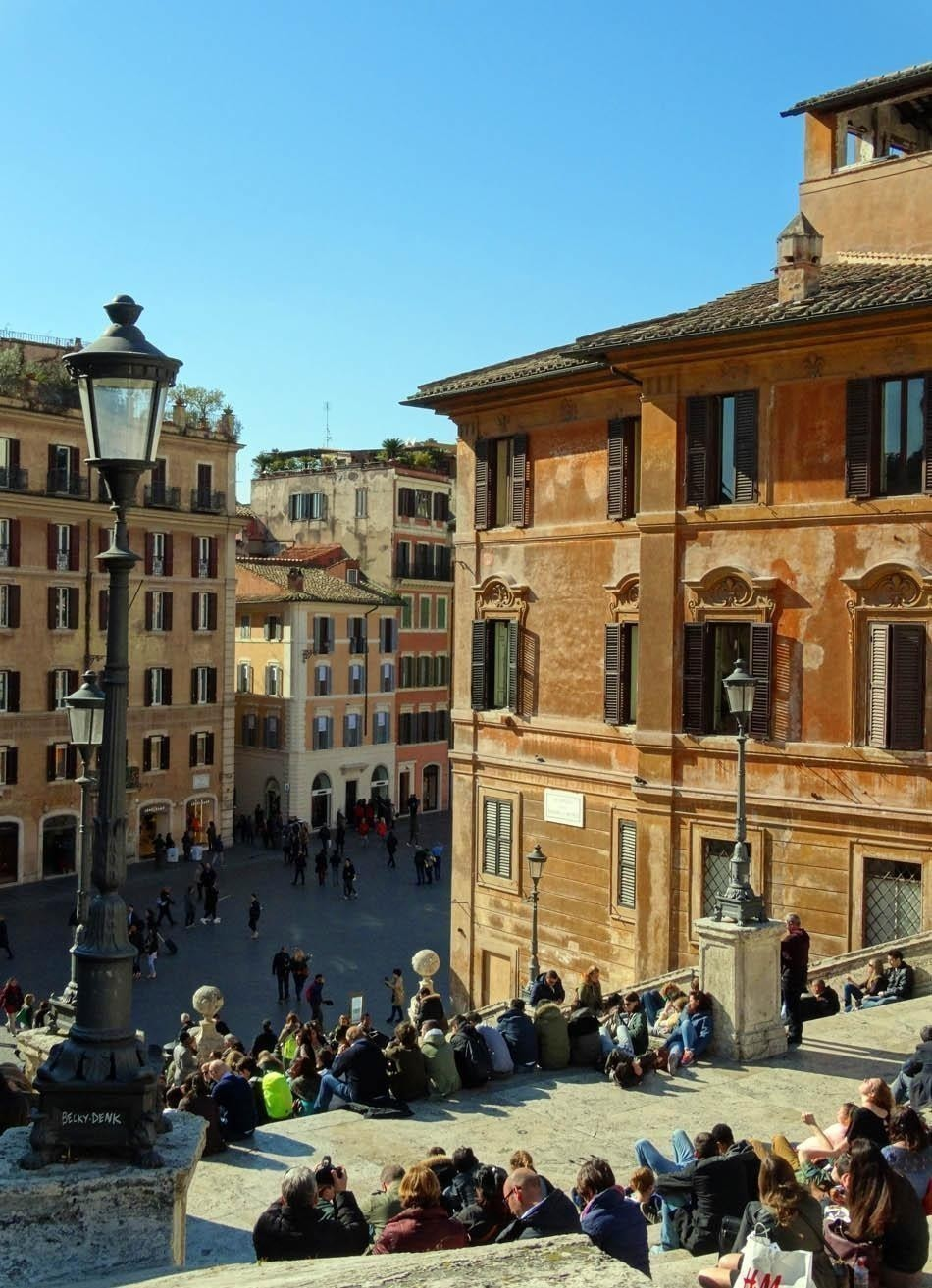Spanish Stairs, Rome Italy  Top Ten Free Things to Do in Rome, Italy