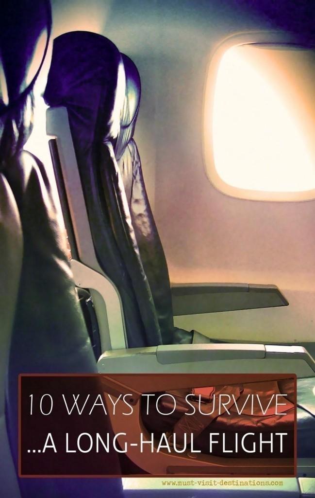 10 Ways to Survive a Long-Haul Flight