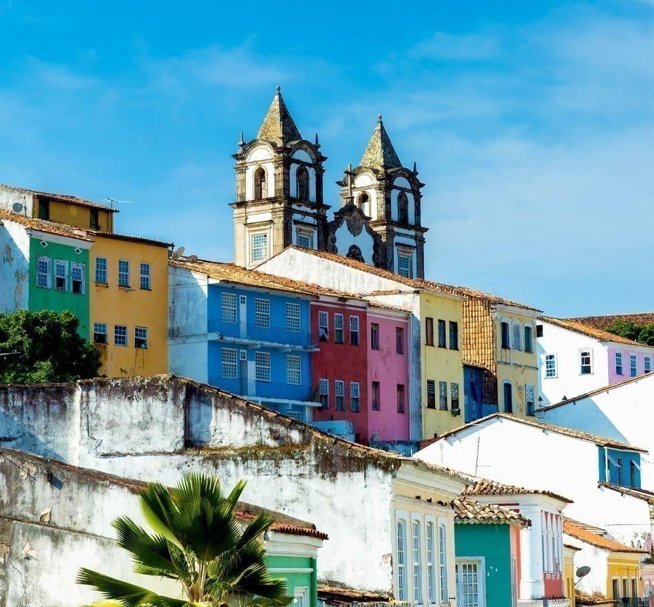 The historic centre of Salvador   Brazil Travel Guide