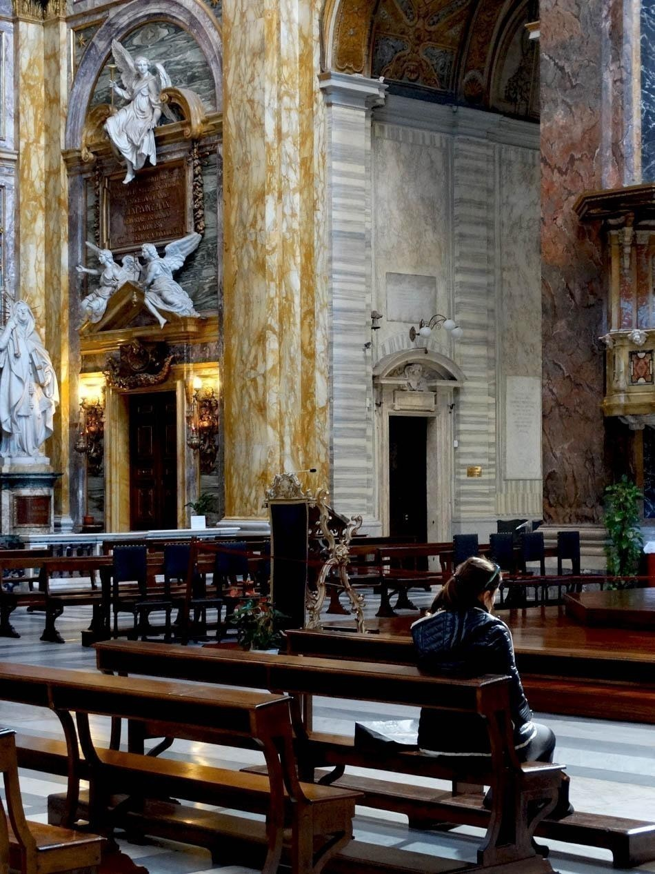 Basilica San Carlo al Corso, Rome   What to do in a rainy day in Rome - the Eternal City
