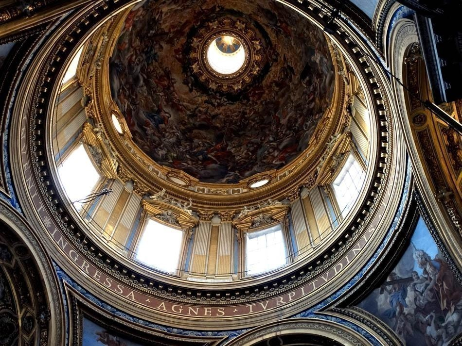Sant`Agnese in Angone, Piazza Navona, Rome   What to do in a rainy day in Rome - the Eternal City