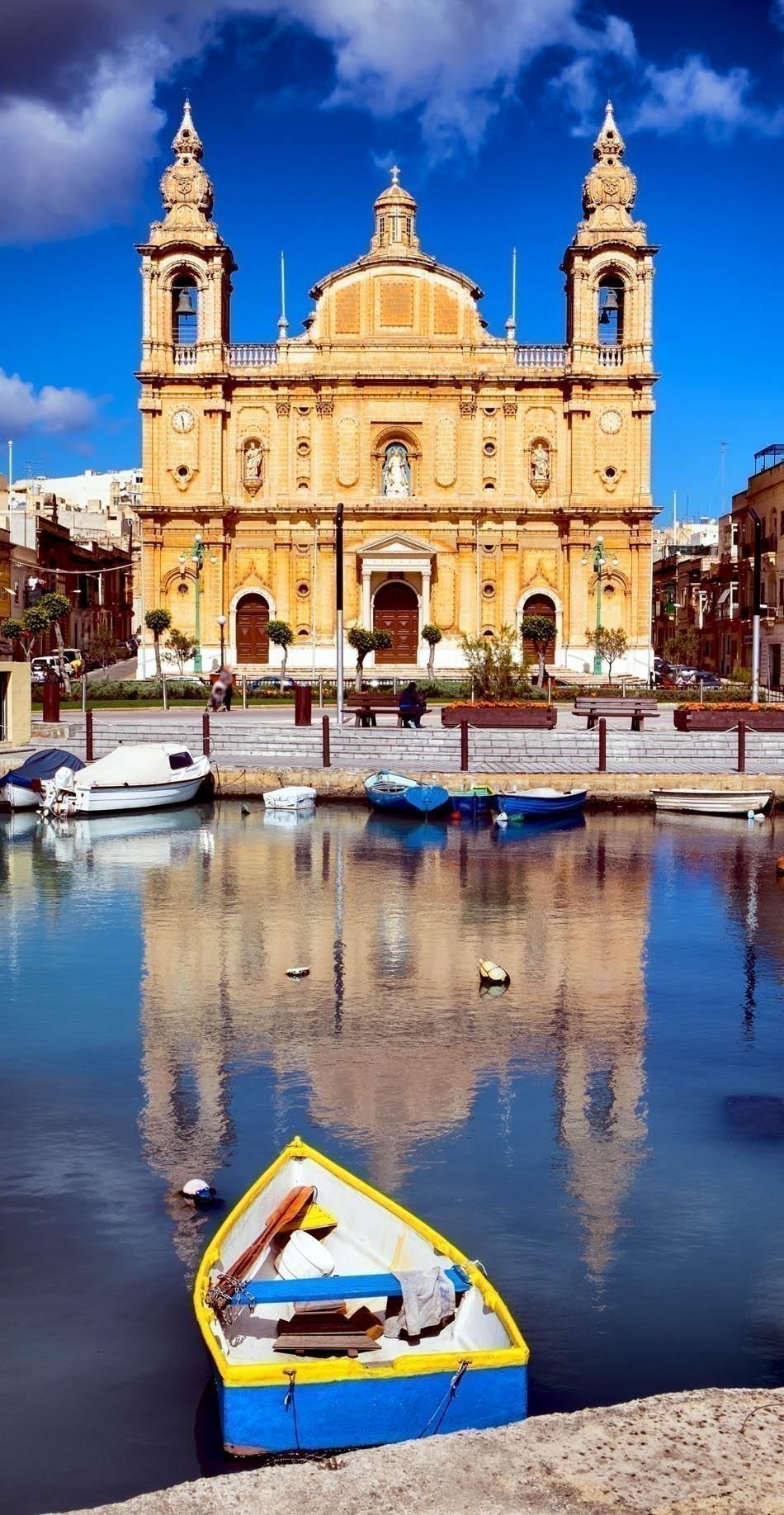 Msida Parish Church - Valletta - Malta | The most beautiful European Destinations in Spring