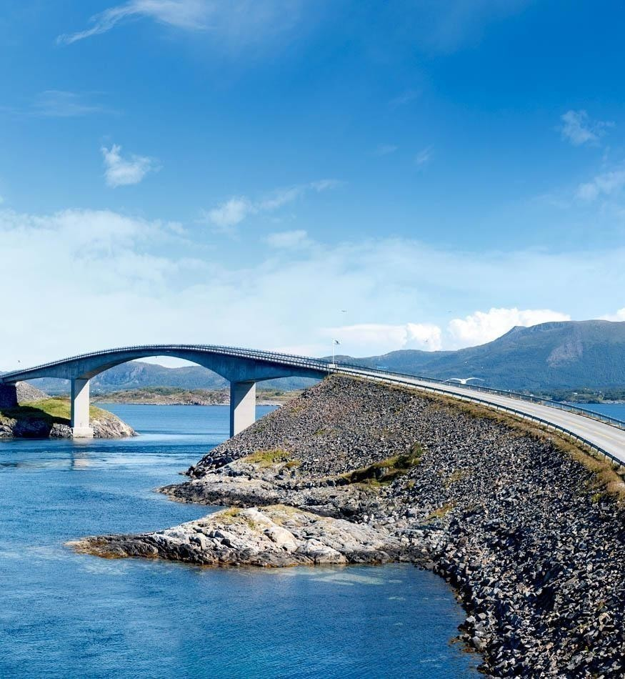 Famous Atlantic Road in Norway | Norway Travel Guide