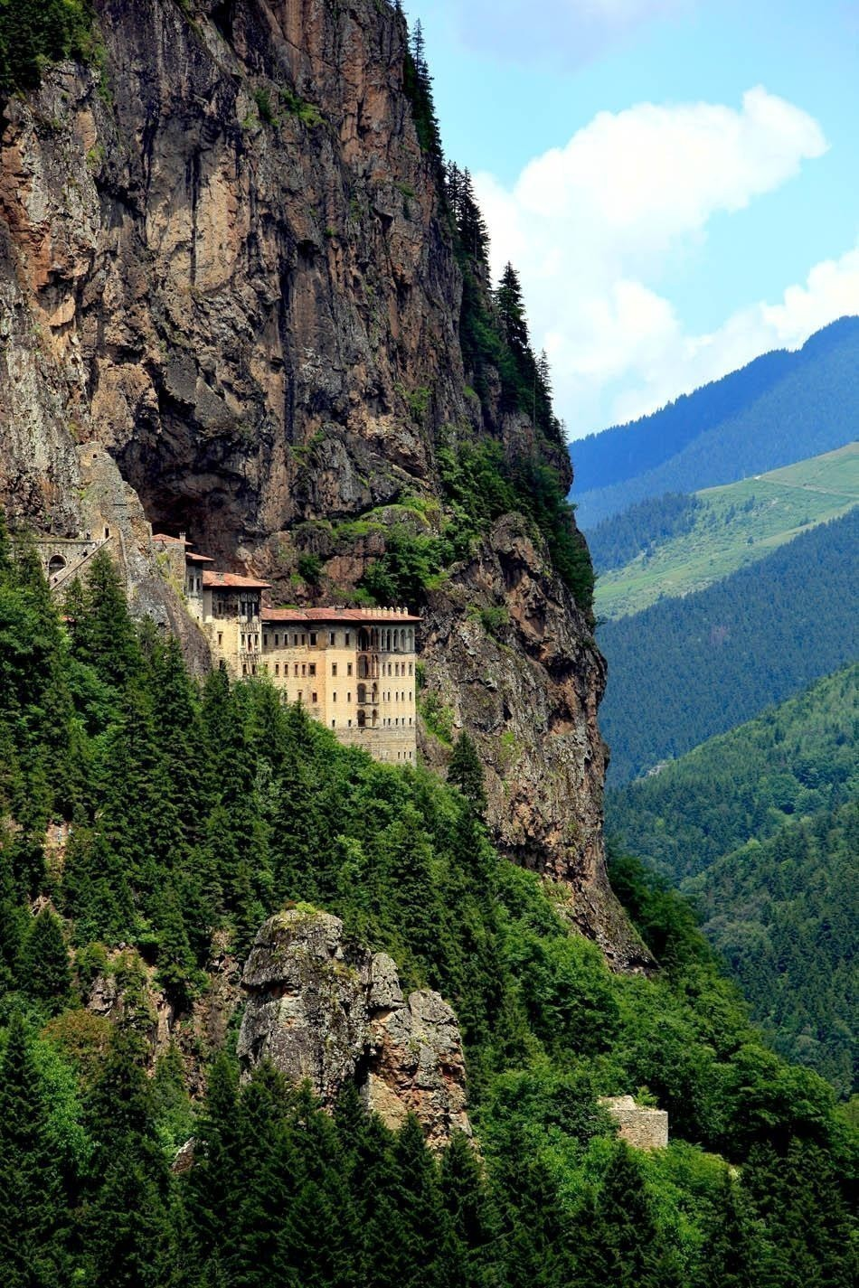The Majesticly Sumela Monastery, Trabzon, Turkey | Turkey Travel Guide