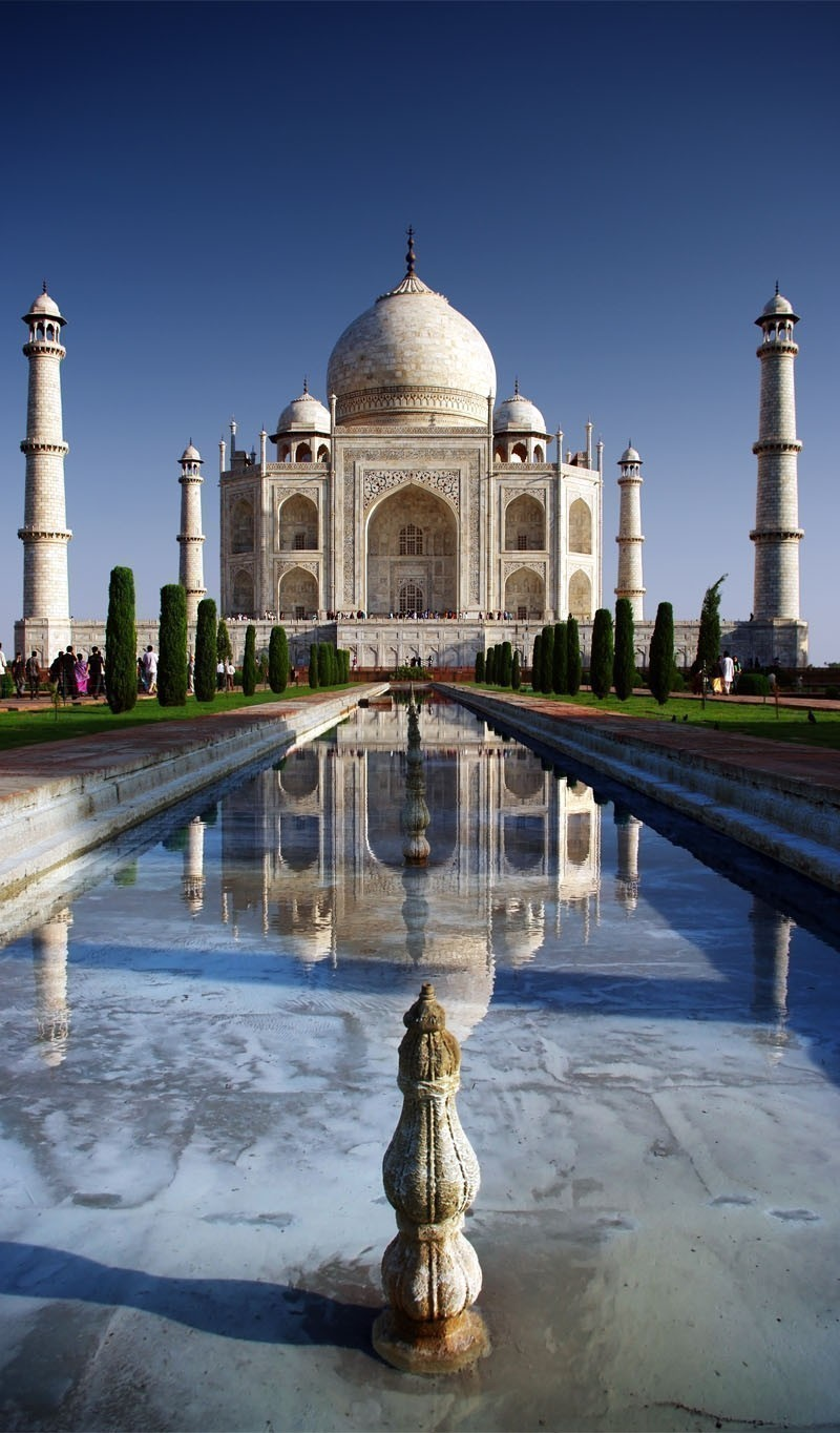 Amazing view of Taj Mahal, Agra | Your Complete Travel Guide to India