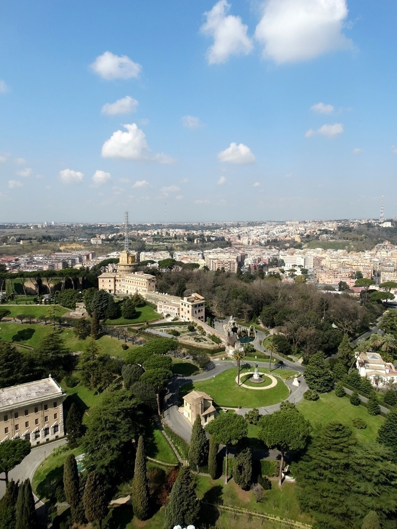 The Vatican Gardens | 5 Tourist Attractions to visit in Vatican