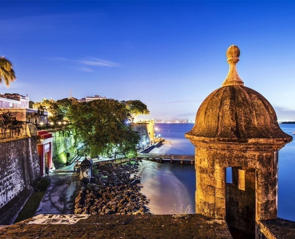 San Juan, Puerto Rico coast at Paseo de la Princesa | TOP 10 Budget Destinations for 2016