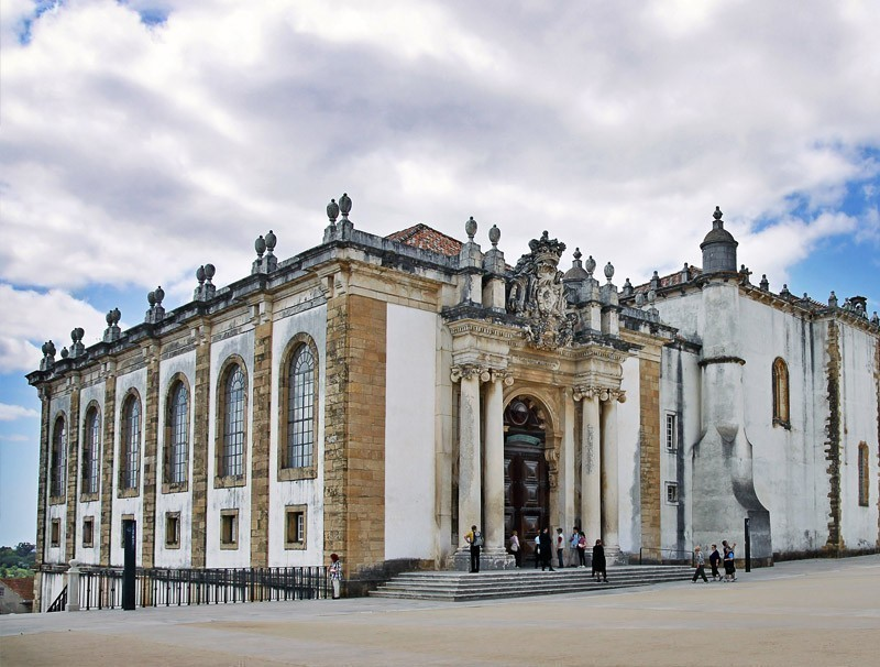 University library building in the Europe's oldest university in Coimbra | Portugal Travel Guide: What to Do and See