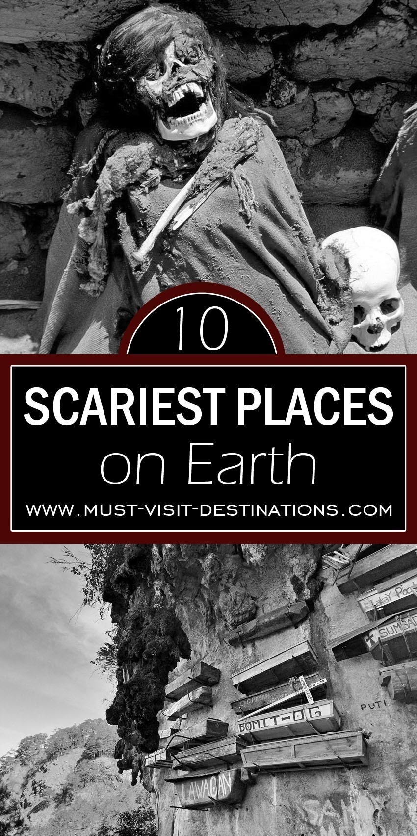 TOP 10 Scariest Places on Earth #travel #freak