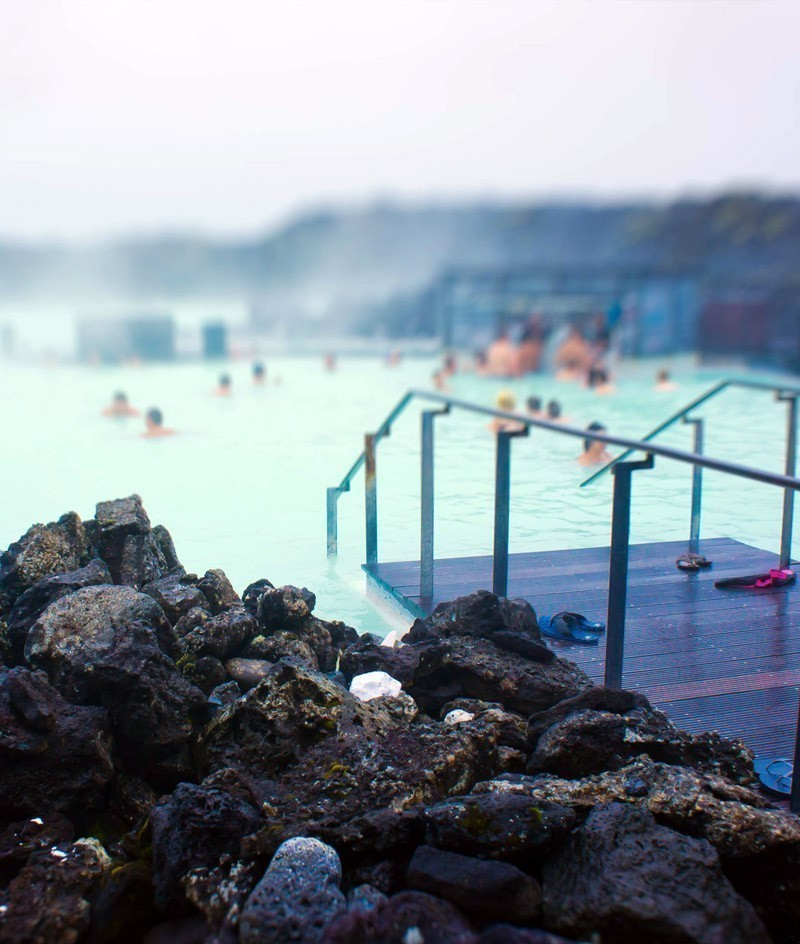 Famous Icelandic Geothermal Spa Resort Blue Lagoon near Reykjavik | TOP 10 Things to See and Do in Iceland