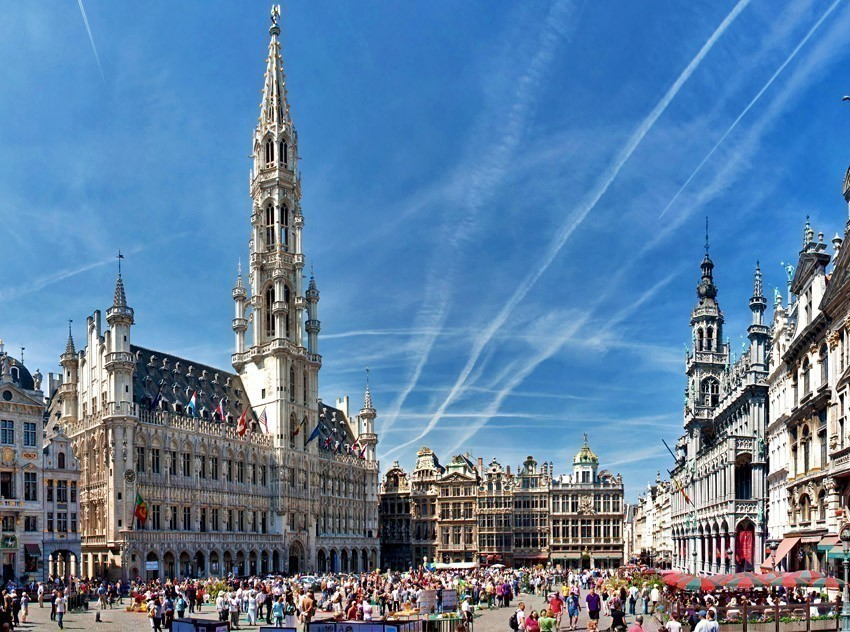Brussels Grand Place | TOP 10 World-famous City Squares