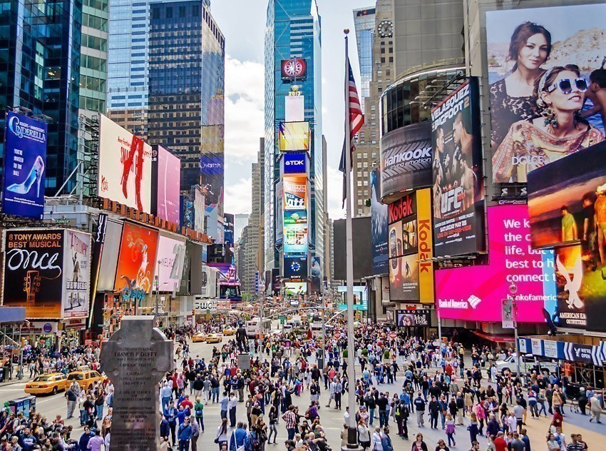 Times Square, New York | TOP 10 World-famous City Squares