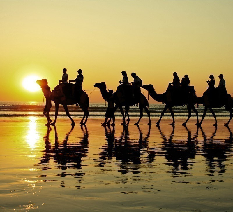 Camel ride in Cable Beach, Broome | Top 10 Australian Beaches That You Must Include in Your Bucket List