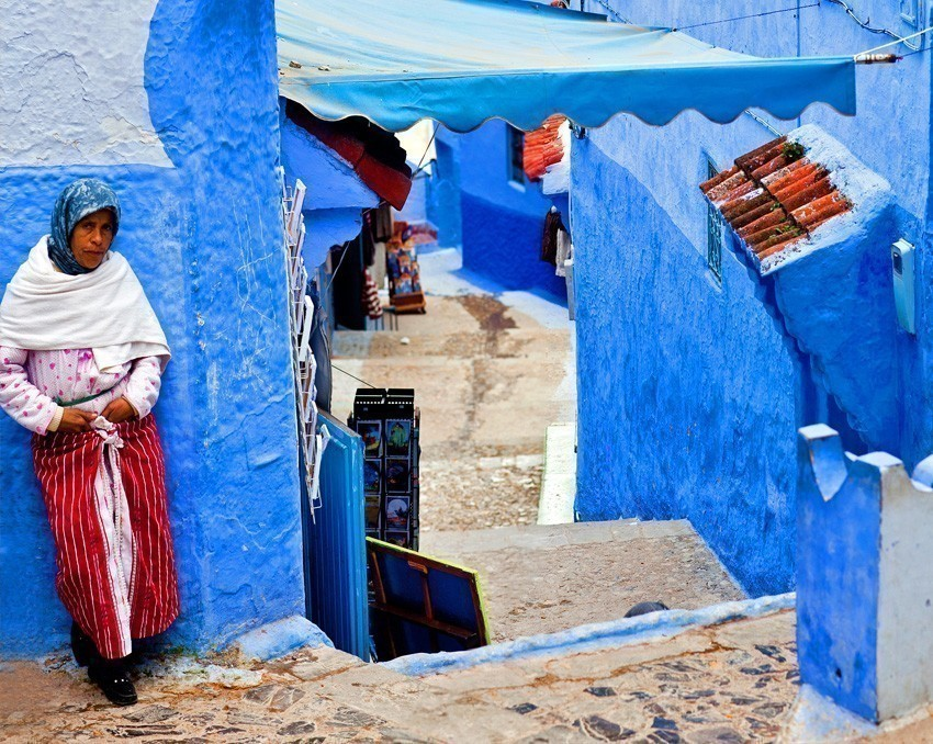 Chefchaouen or the Blue Pearl is arguably Morocco's prettiest town | 6 Reasons Why we fell in love with Morocco