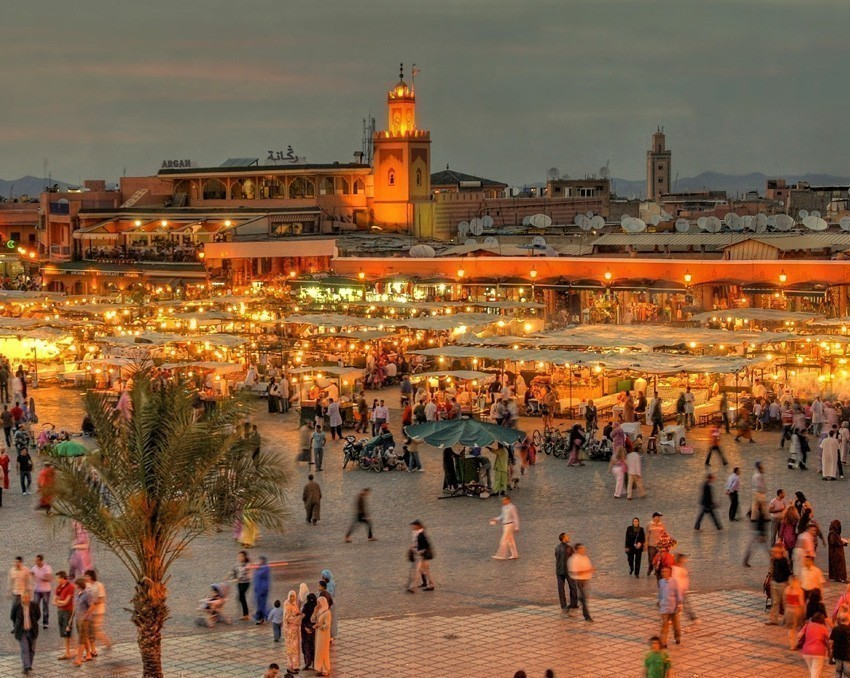The UNESCO square Djemaa El-fna at Marrakesh, Morocco | 6 Reasons Why we fell in love with Morocco