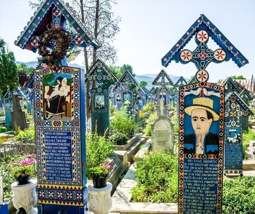 The merry cemetery of Sapanta, Maramures. | 5 Reasons Why Romania is the Country Every Traveler Needs to Visit