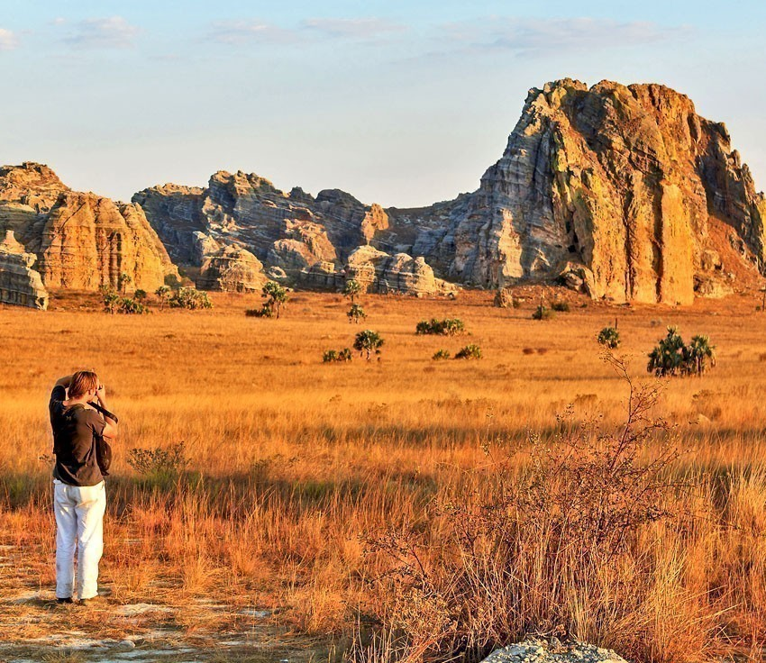 Famous rock formation 'La Fenetre' in Isalo, Madagascar   7 Awesome Things to Do and See if You Travel to Madagascar