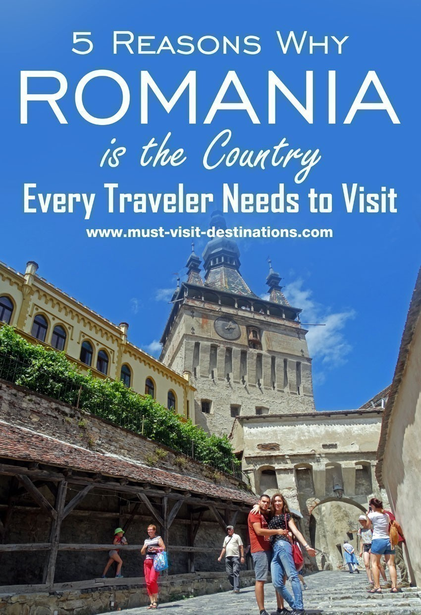 5 Reasons Why Romania is the Country Every Traveler Needs to Visit #romania #travel