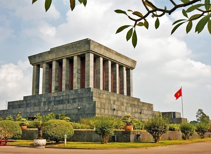 View of the Ho Chi Minh Mausoleum in Hanoi, Vietnam | 10 Must-Visit Cities in Asia