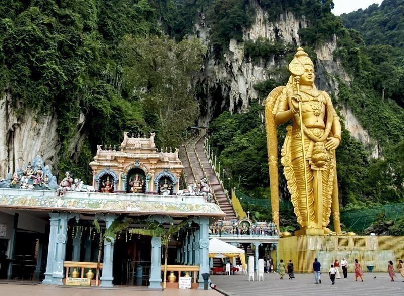 Malaysia - Statue of Lord Muragan at Batu Caves in Kuala Lumpur | 10 Must-Visit Cities in Asia