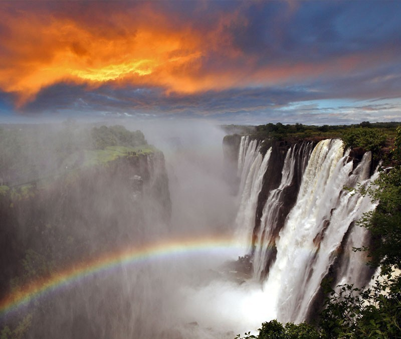 Dramatic View of Victoria Falls, Zambia | 10 Wonders Of The World You Have To Visit