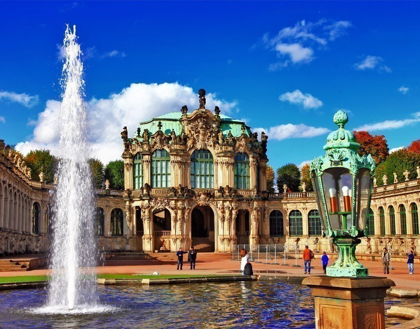 The world-famous Zwinger is one of the most magnificent Baroque buildings in Germany. | Germany Travel Guide