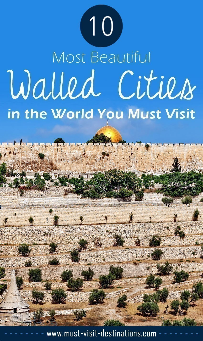 TOP 10 Most Beautiful Walled Cities in the World You Must Visit #travel