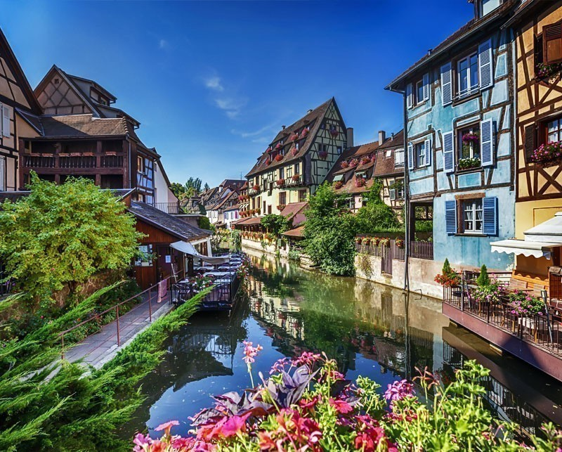 Beautiful Colmar, named Little Venice. Alsace region | 10 little towns in France you need to visit Now!