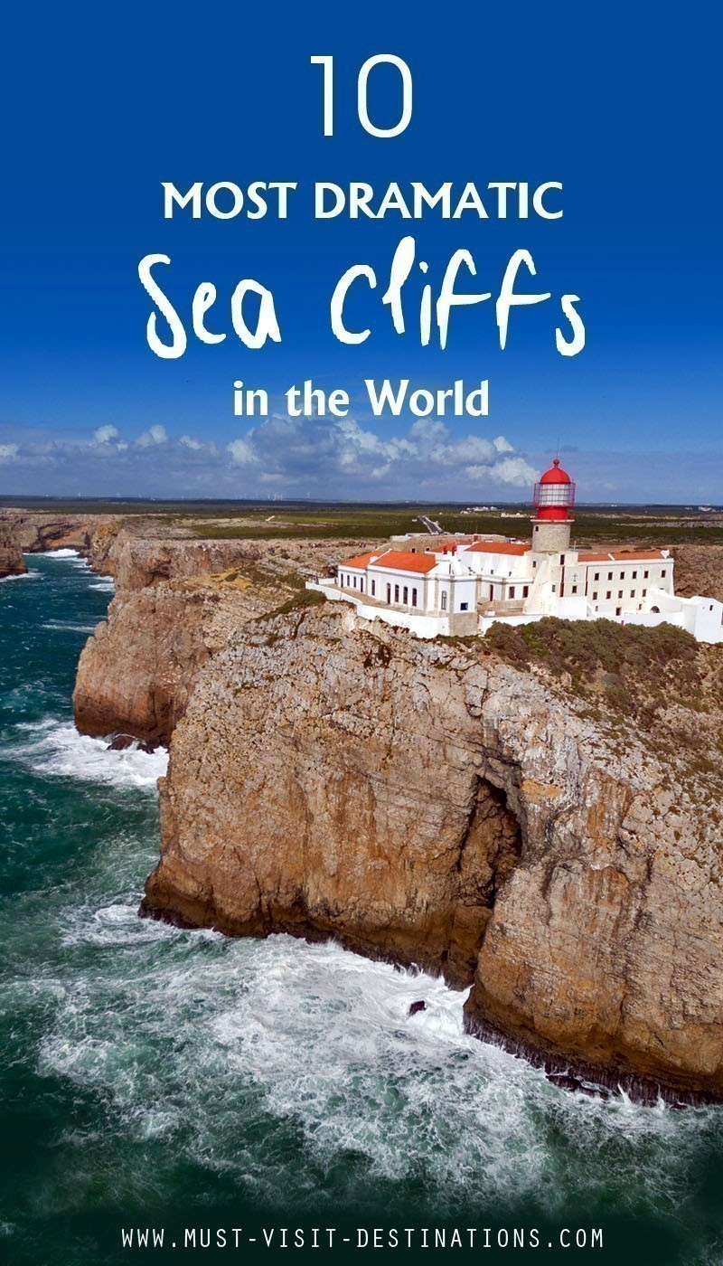 10 Most Dramatic Sea Cliffs in the World #travel #culture