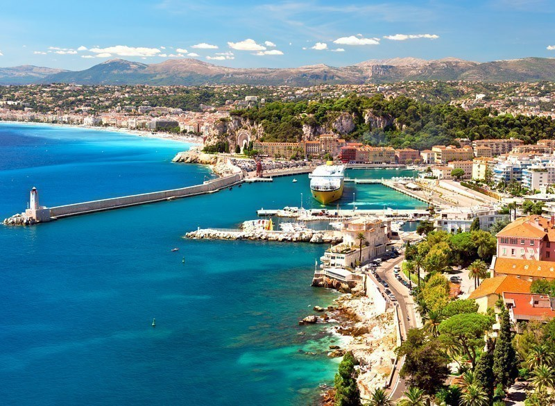 Amazing View of Nice, Cote d'Azur | 10 Most Exquisite Places to Visit in France