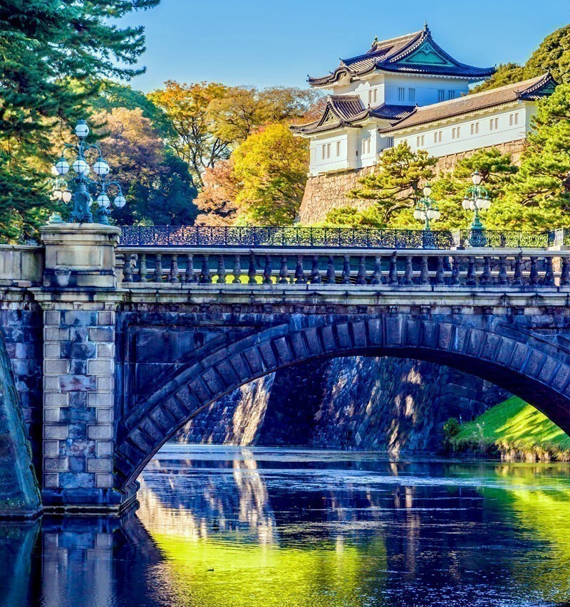 Beautiful Imperial Palace building in Tokyo | TOP 10 Tourist Attractions in Japan You Must Visit