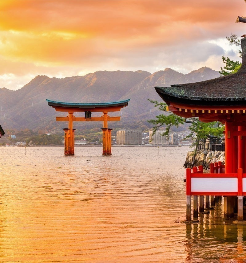 Miyajima, The famous Floating Torii gate, Japan. | TOP 10 Tourist Attractions in Japan You Must Visit