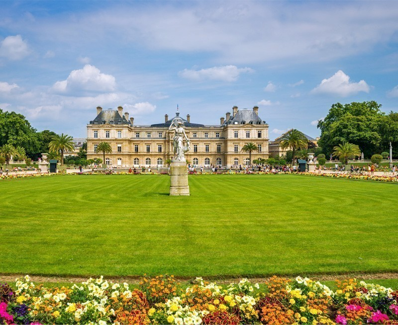 View of Luxembourg Gardens | TOP 10 Kid-Friendly Destinations Around the World