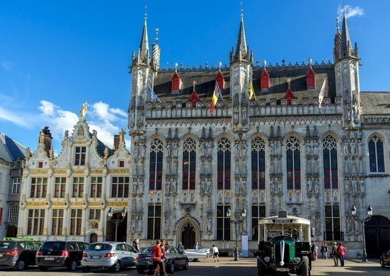 Provincial Palace in Market Square, Bruges | TOP 10 Places To Travel in January