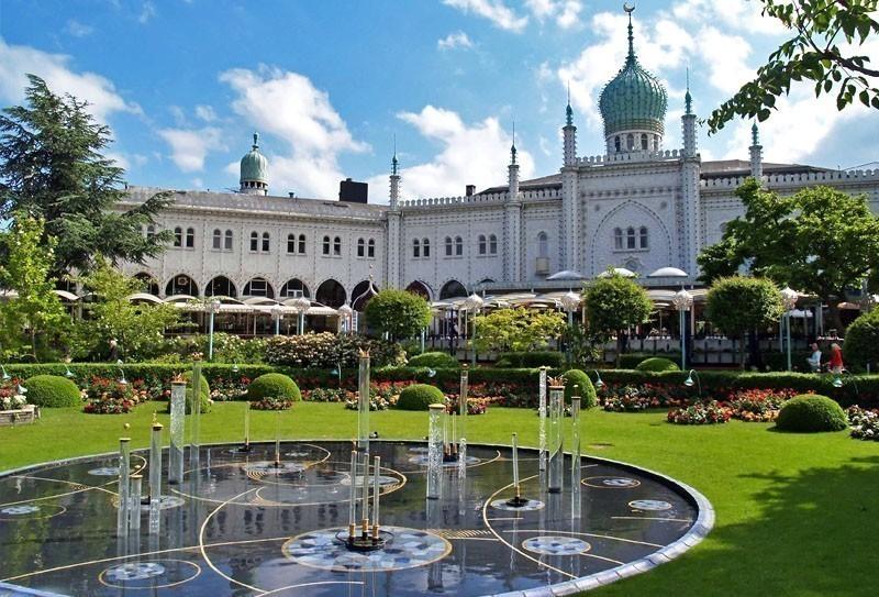 The famous Tivoli Garden in Copenhagen | TOP 10 Most Amazing Tourist Attractions in Copenhagen