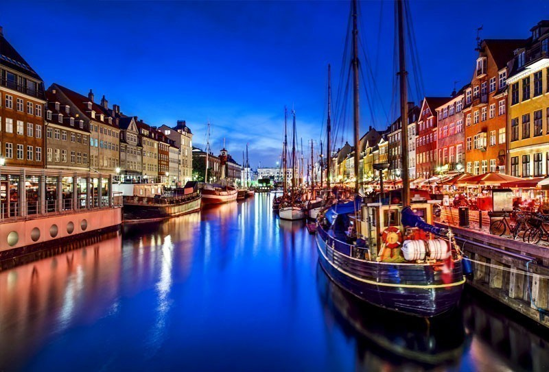 Nyhavn, a historic canal and entertainment district in Copenhagen | TOP 10 Most Amazing Tourist Attractions in Copenhagen