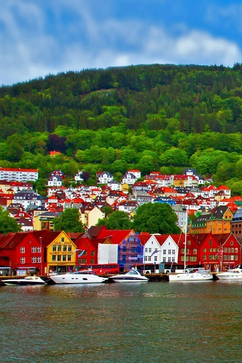View of Bergen, Norway | TOP 10 Places To Travel in May