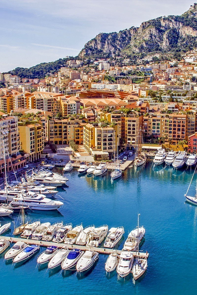 View of the famous Port of Monaco | TOP 10 Places To Travel in May