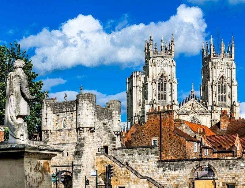 """Amazing View of York, """"Capital of the North"""" 