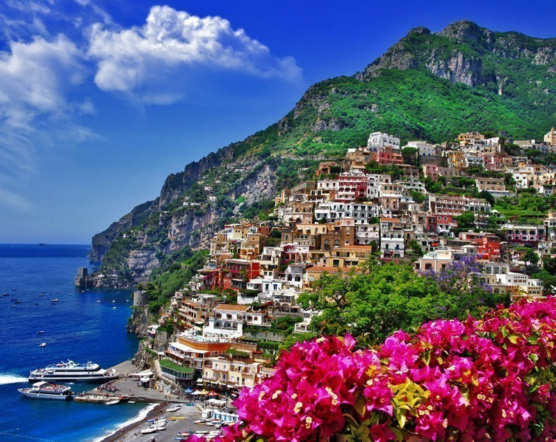 Beautiful View of Positano | Exploring The Top Attractions Of The Amalfi Coast