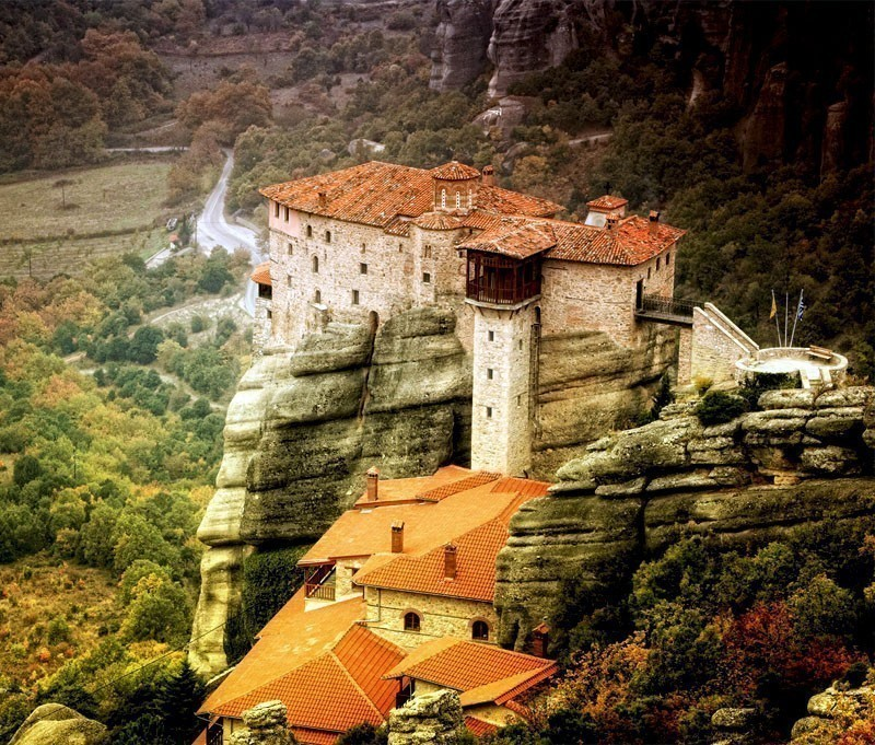 View of the famous Meteora Monasteries | 10 Top Rated Tourist Attractions In Greece