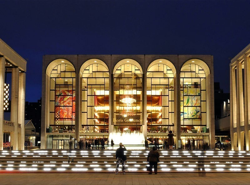 Metropolitan Opera House at Lincoln Center | TOP 10 Tourist Attractions in New York City