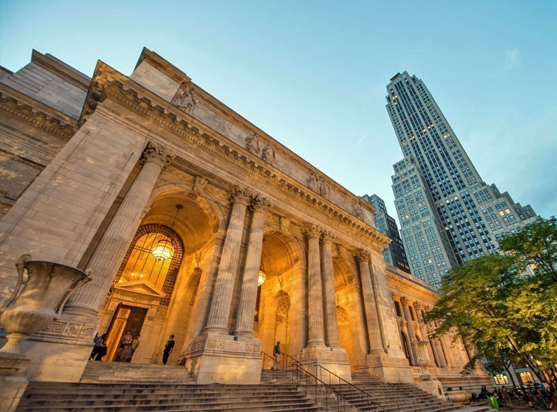 View of the Public Library in New York | TOP 10 Tourist Attractions in New York City