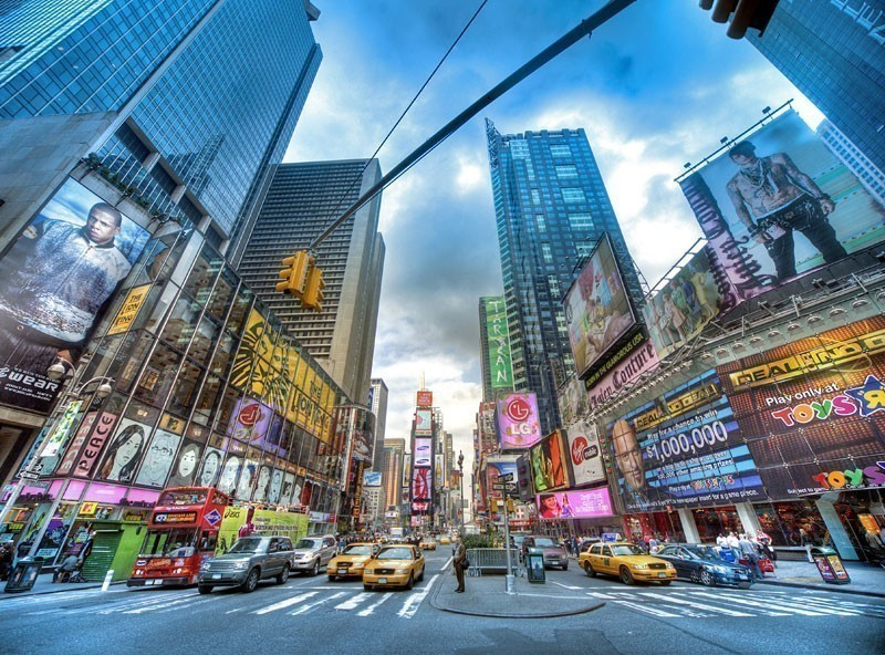 Amazing View of New York Times Square | TOP 10 Tourist Attractions in New York City