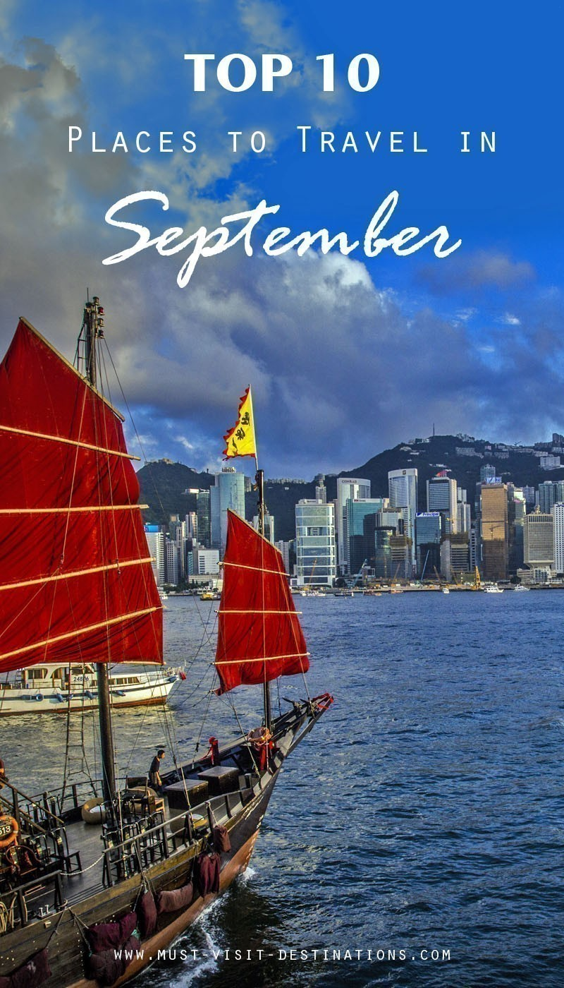 TOP 10 Places to Travel in September #september #travel