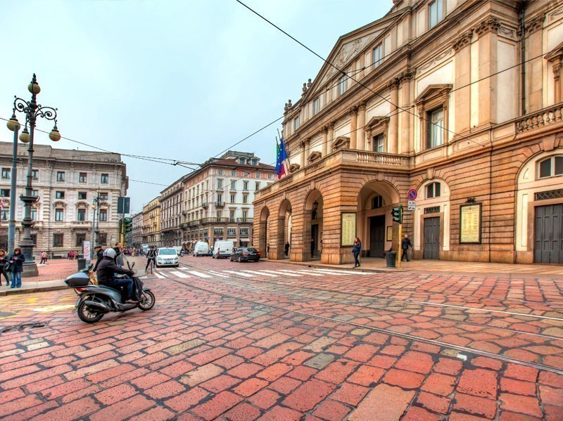 La scala theatre in Milan city centre | What to Do in Milan in 3 Days