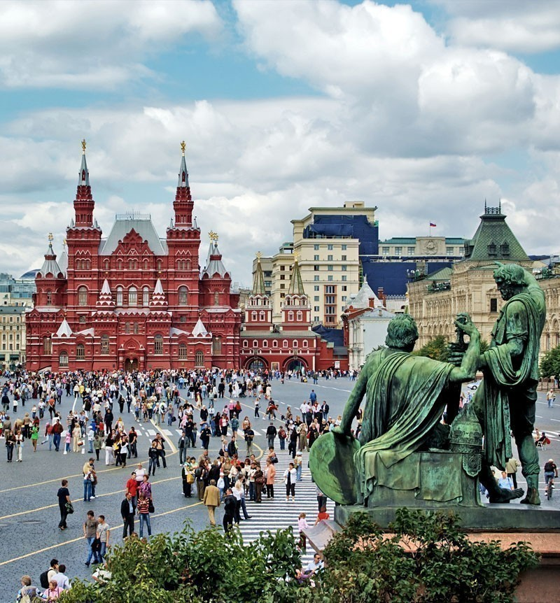 View of Red Square in Moscow | What to Do in Moscow in 3 Days