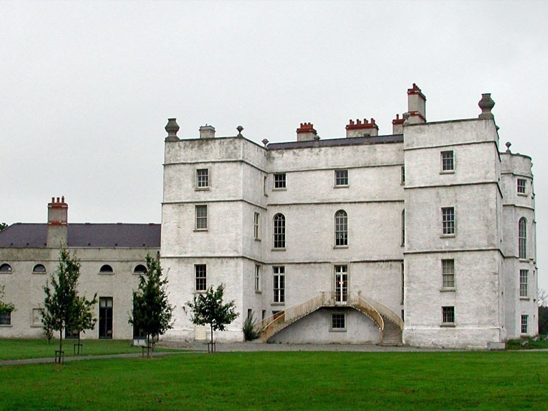 Beautiful Rathfarnham Castle in Ireland is open to tourists between the months of May and October | 10 Most Amazing Castles in Ireland You Should Visit
