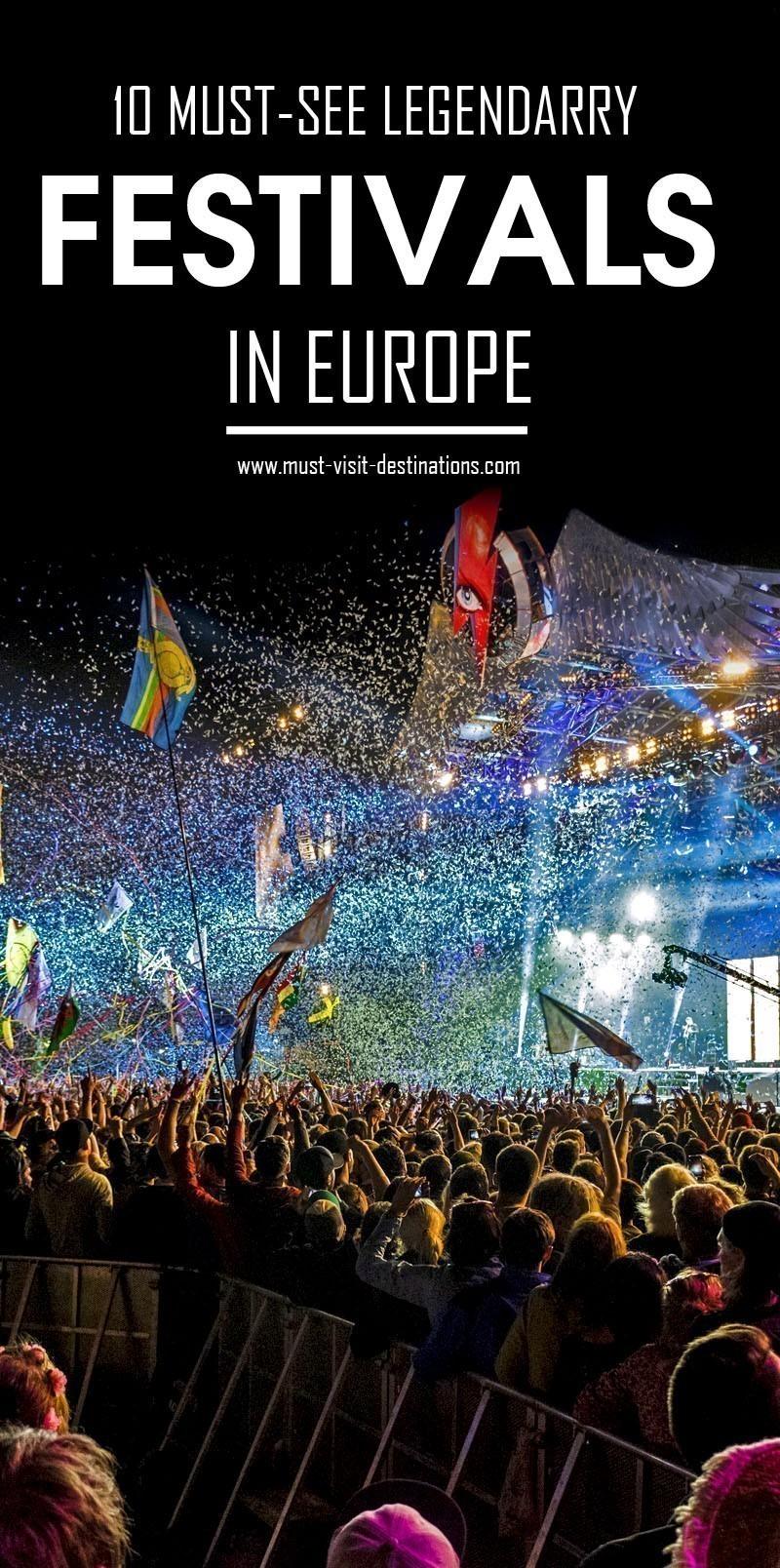 10 Must-See Legendary Festivals in Europe #travel #europe