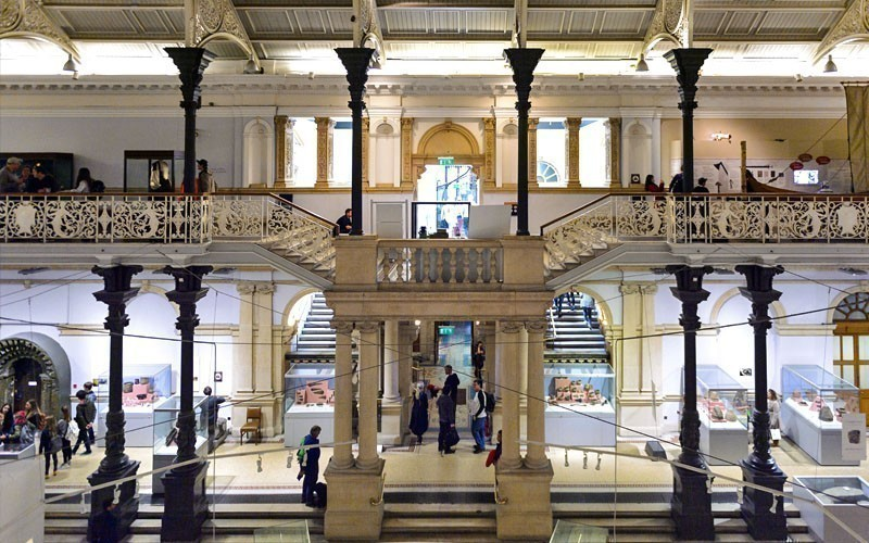 Interior of the National Museum of Ireland, established on the 14th August 1877 | What to Do in Dublin in 3 Days